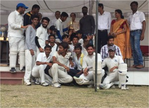 RGPV Inter College Indore Nodal  cricket Tournament - winner